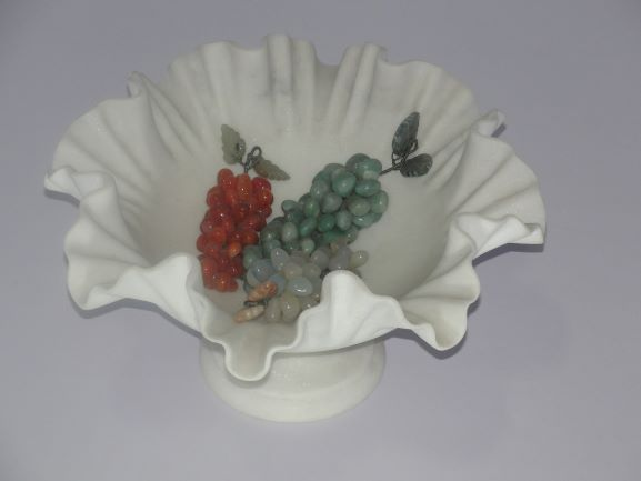Marble Fruit Bowl