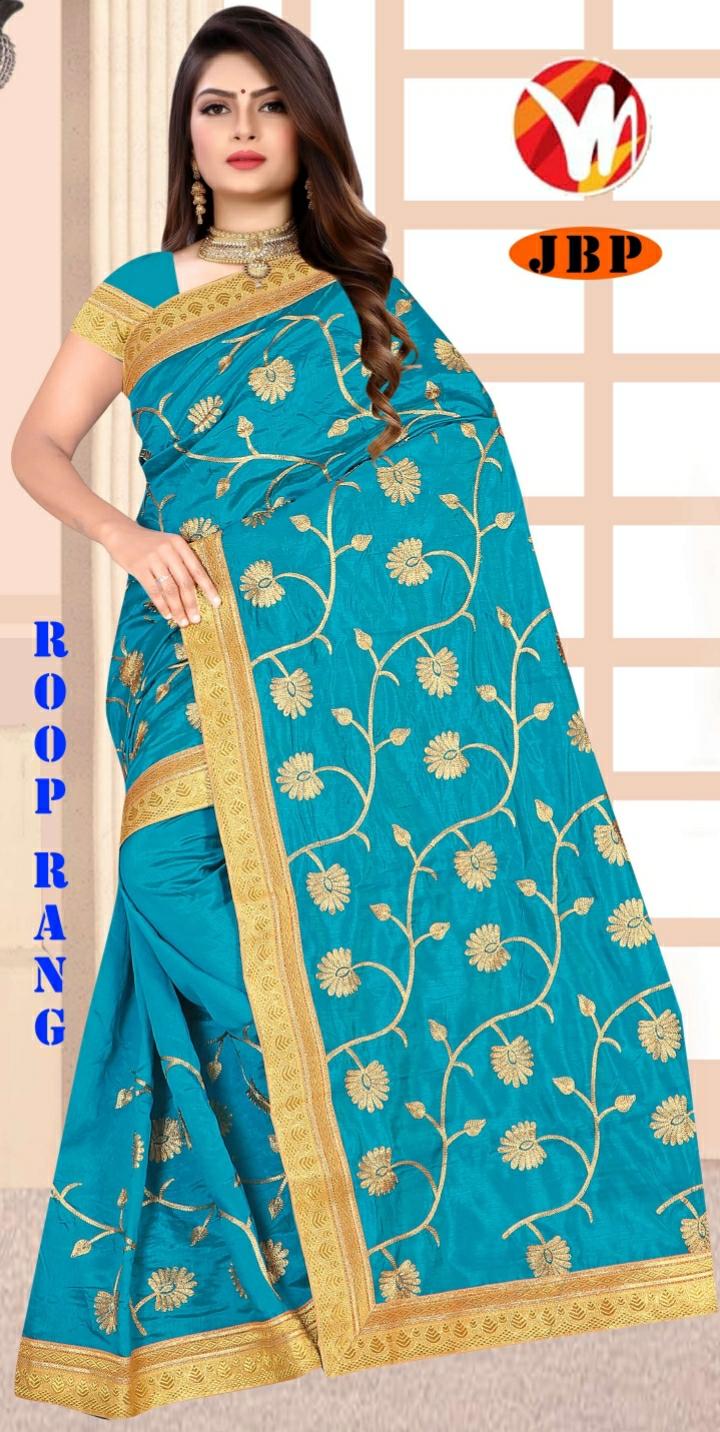 ROOP RANG-SKY-BLUE-SAREE