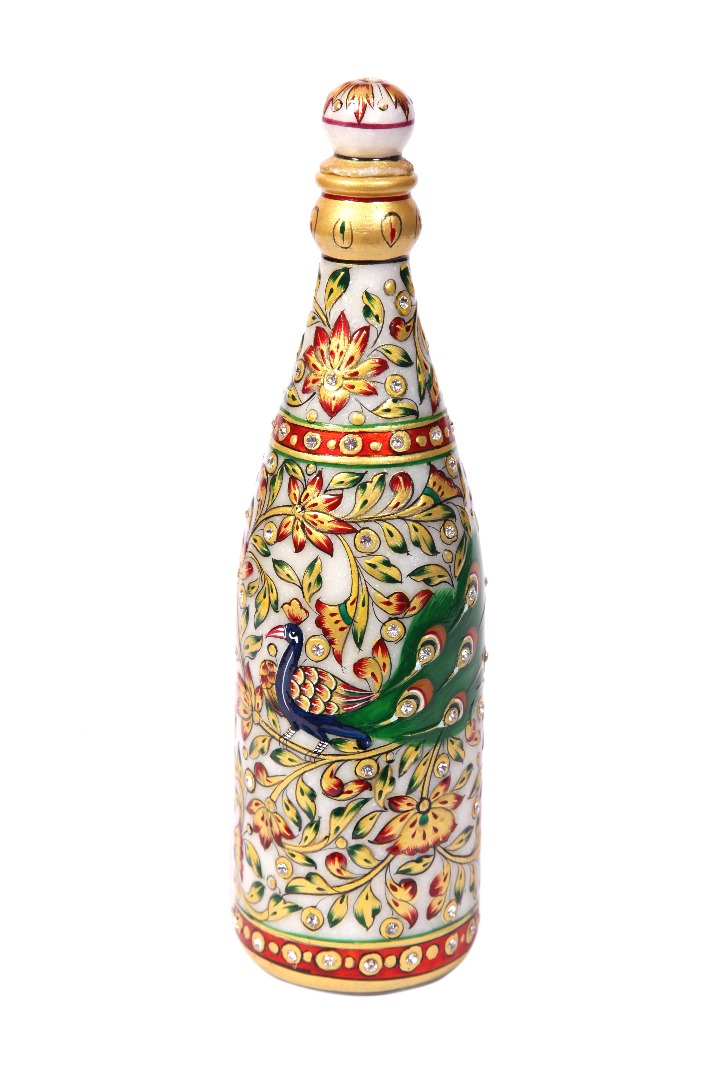 Marble New Designer Water Bottel