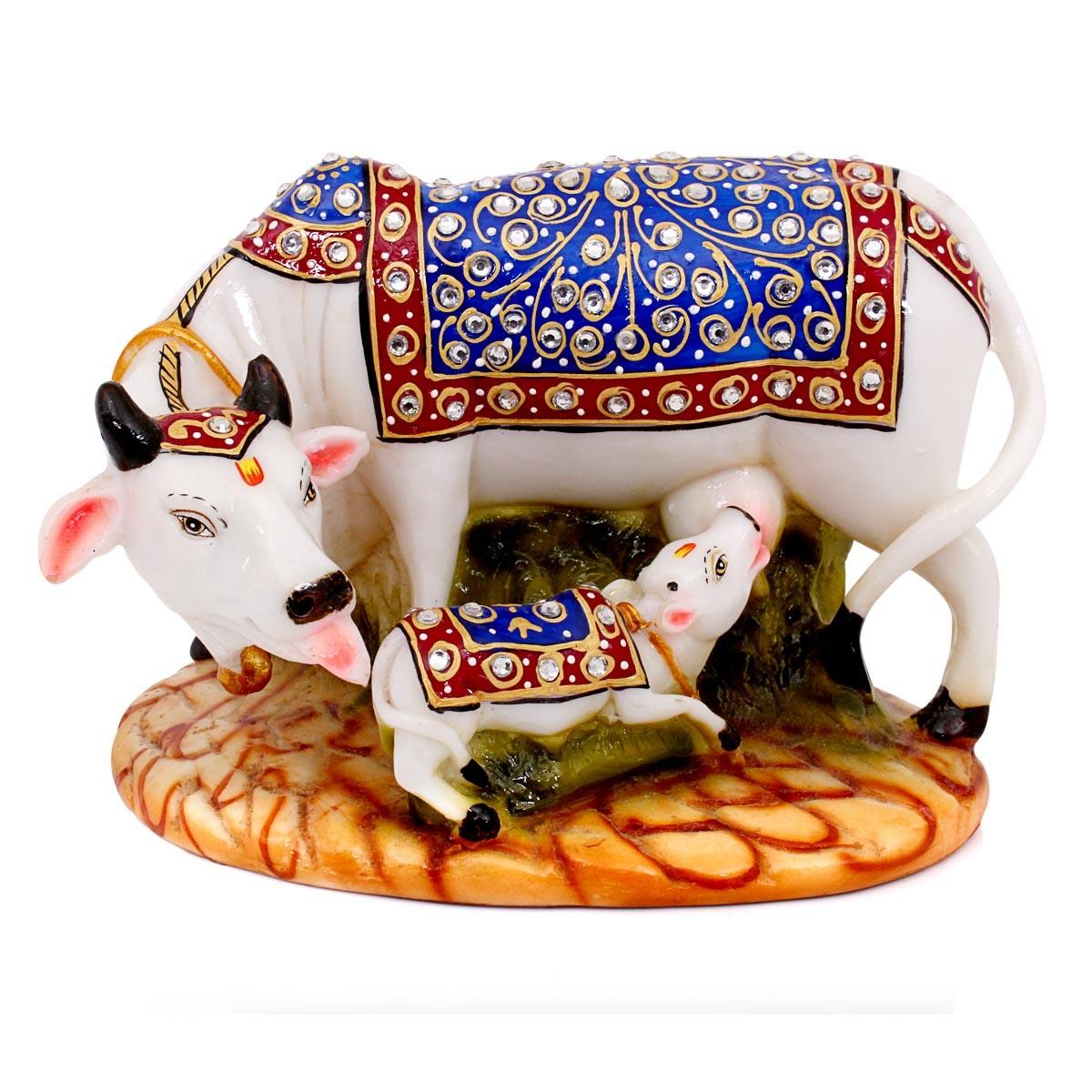 Decorative Kaamdehenu Cow