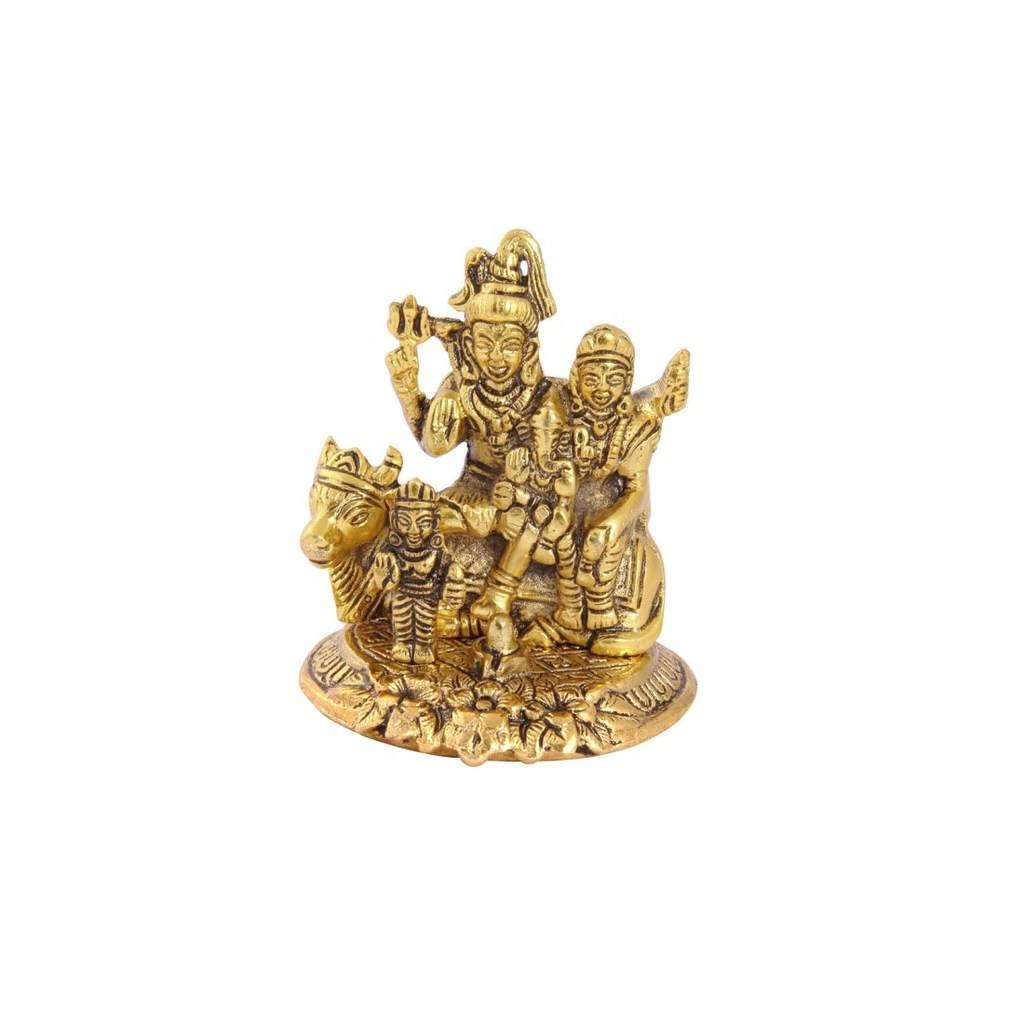 Metal GoriShankar Statue